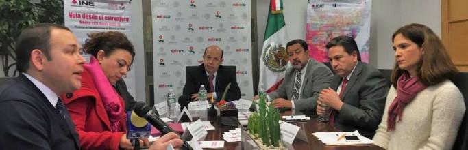 Las dos opciones para que los mexicanos voten desde el extranjero