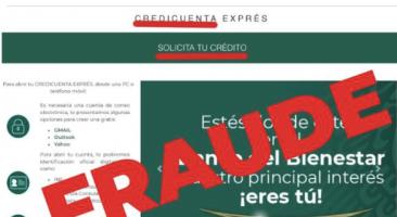 Banco del Bienestar alertó sobre un nuevo fraude de crédito