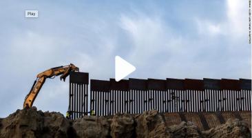 Varios proyectos fronterizos entre Estados Unidos y México se reanudarán, según anunció Seguridad Nacional