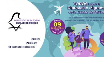 Construir ciudadanía, el reto de las instituciones electorales más allá de las fronteras: coinciden especialistas en foro sobre la Diputación Migrante